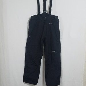 North Face Mens XL GoreTex Black Ski Snow Bibs Bib Snowboard Snowsuit Pants Suit